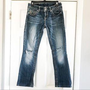 Vigoss The Chelsea Slim Bootcut Jeans